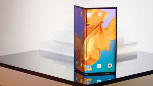 smartphone pliable Huawei Mate X
